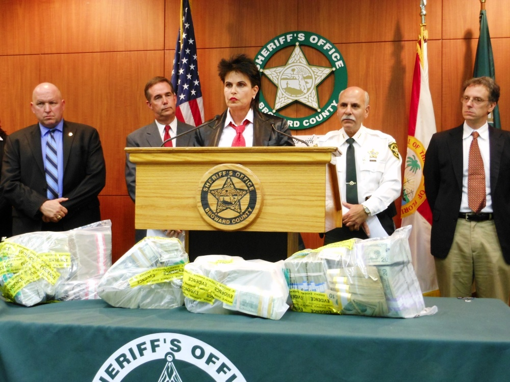 "The Fraud Dog Recognized at 'Operation Dirty Money': 8 Arrested in the ""Cheat to Compete"" Scheme"