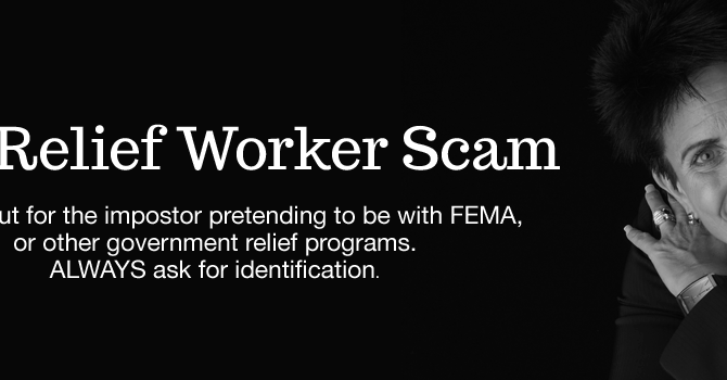 The Relief Workers Scam