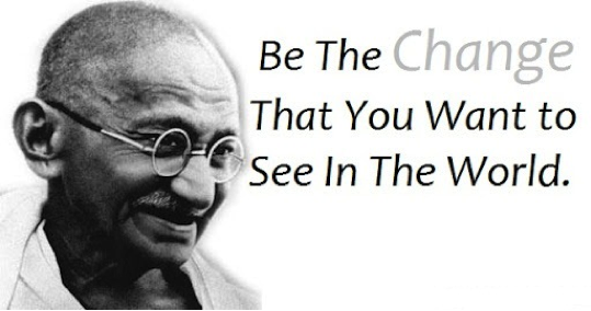 gandhi_be the change