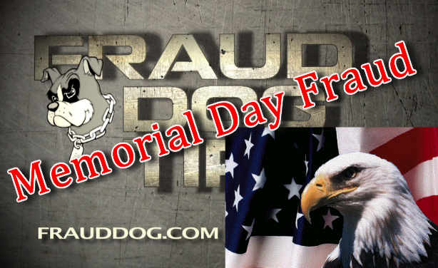 Protect our Military Families against Memorial Day Fraud